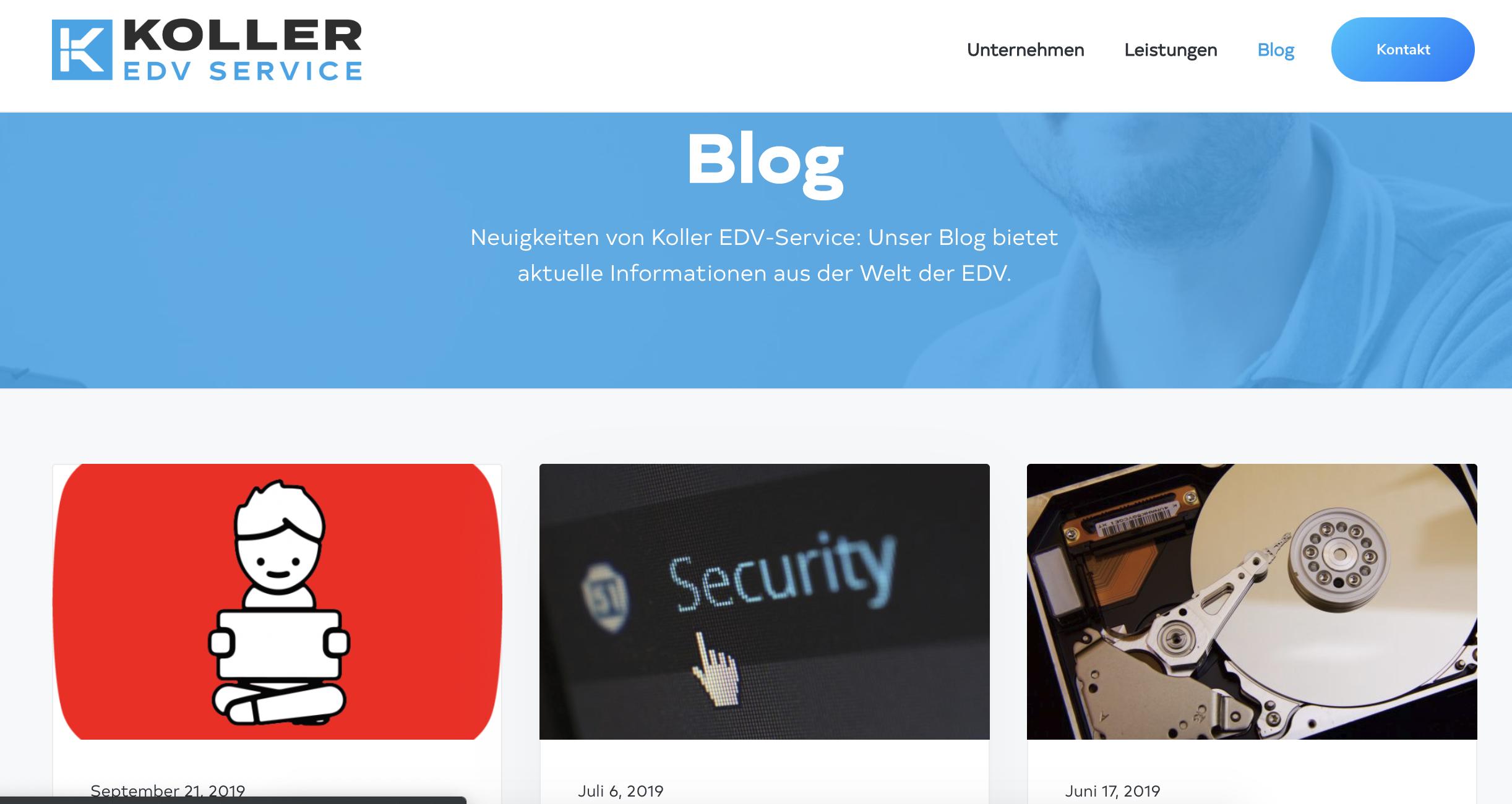 EDV-Unternehmer-Blog